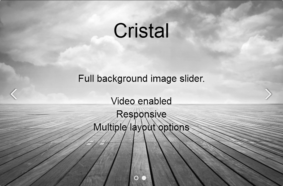 WordPress Slider Plugin - theme Cristal
