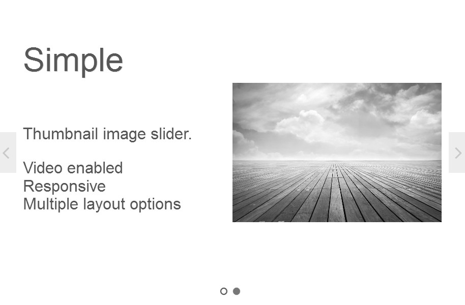 WordPress Slider Plugin - theme Simple